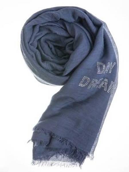Barfota skjerf , Rhinestones jeans blue