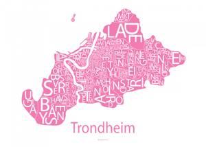 Bilde av Designbyodd, Plakat Trondheim
